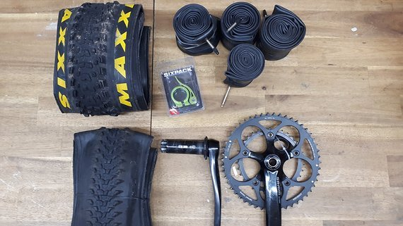 SRAM Specialized Maxxis Teile Paket /// alles muss raus!