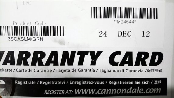 Cannondale Scalpel Carbon Jubiläums Bike 24 Dezember