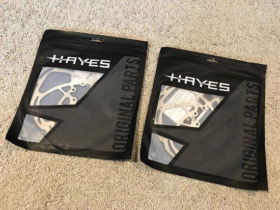 Hayes D-Series Bremsscheiben 203mm für Dominion Bremsanlage *NEU*