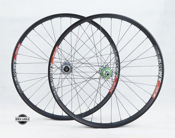DT Swiss XM 551 Laufradsatz mit Hope Pro 4 Evo Naben / Bike-Lädle Laufradbau