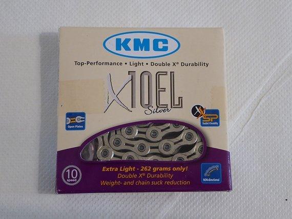 KMC X10 EL Silver, 10-fach Kette, Extra Light, NEU