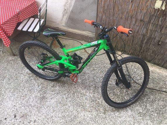 Scott Gambler 730 2015 Downhill Bike (M) TOP ZUSTAND + EXTRAS