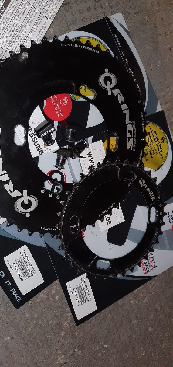 Rotor Q-Rings 52/36  Shimano (6800, 5800)