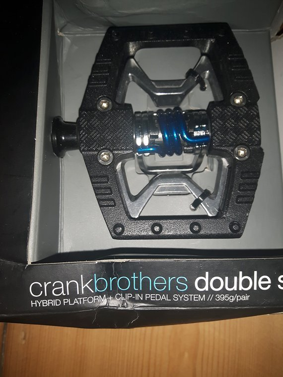 Crankbrothers Double Shot Hybrid Pedal - schwarz