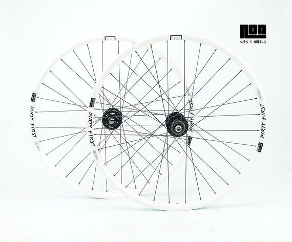 """Noa Dirty FIRST Singlespeed Laufradsatz 24""""/26"""" mit Noa-BL-Evo SSP Naben / Bike-Lädle Laufradbau / Noahubs & Wheels"""