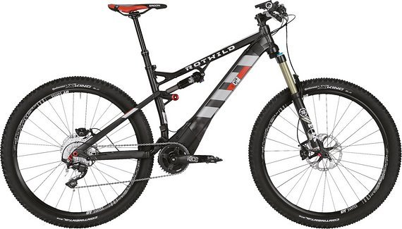 Rotwild C+ FS 27.5 Pro Gr. M schwarz Mod. 2016 NEU Brose/E-Bike (UVP 5999,-)