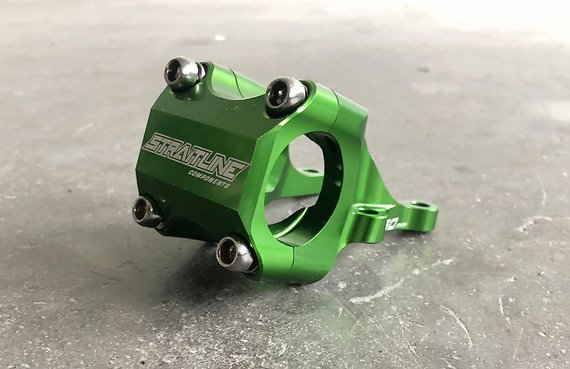 Straitline Components Direct Mount Vorbau 31,8 mm green