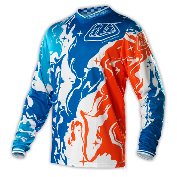 Troy Lee Designs GP Jersey Galaxy Blue 2015 Gr. L