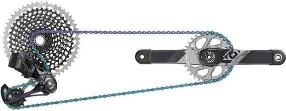 SRAM X01 Eagle AXS Kit, Komplettgruppe inkl. Kurbel | neu & ovp