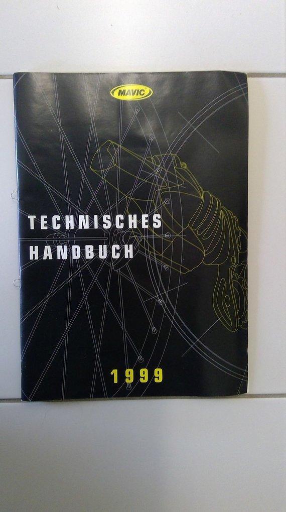 Mavic Technisches Handbuch 1999