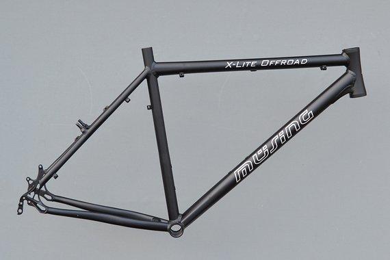 "Müsing Mountainbike X-Lite Rahmen 52 cm in schwarz matt  26"" NR523"