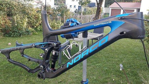 Norco Sight 2014 Carbon L Rahmen Set mit Dämpfer