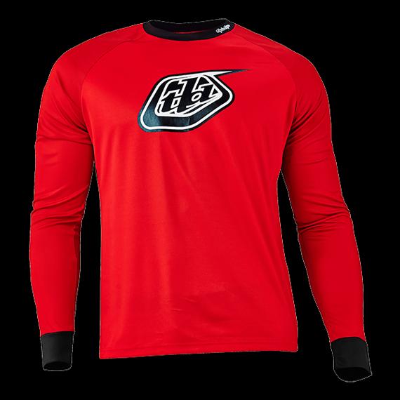 Troy Lee Designs Moto Jersey Trikot Red Gr. M