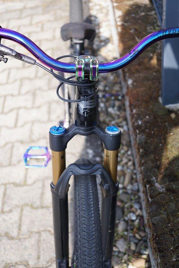 NS Bikes Decade Custom (Oilslick, Hope, Fox)