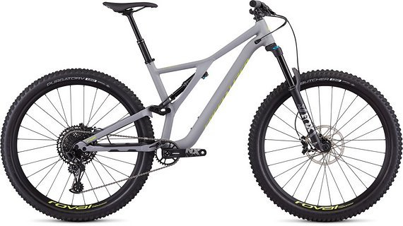 Specialized [ S A L E ] Stumpjumper Comp Alloy 29 - SATIN COOL GREY / TEAM YELLOW S