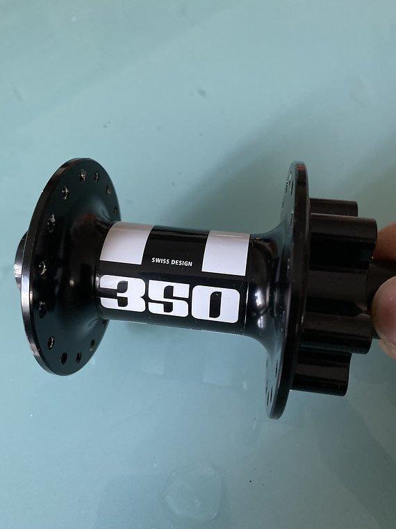 DT Swiss 350 Vorderradnabe 100x15mm / 32 Loch