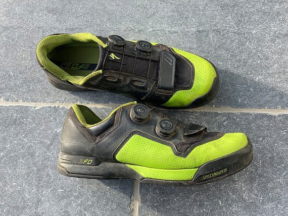 Specialized 2FO Cliplite MTB Schuh - Monstergreen - Gr.44