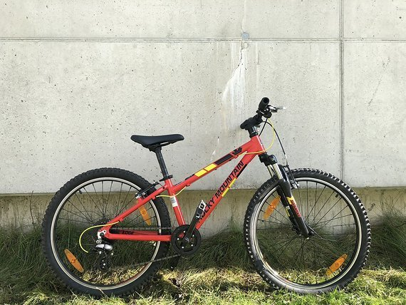 Rocky Mountain Youth Bike EDGE 24 rot & grün