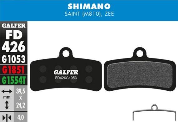 Galfer Bremsbelag Standard Shimano SaintBR-M810, Zee