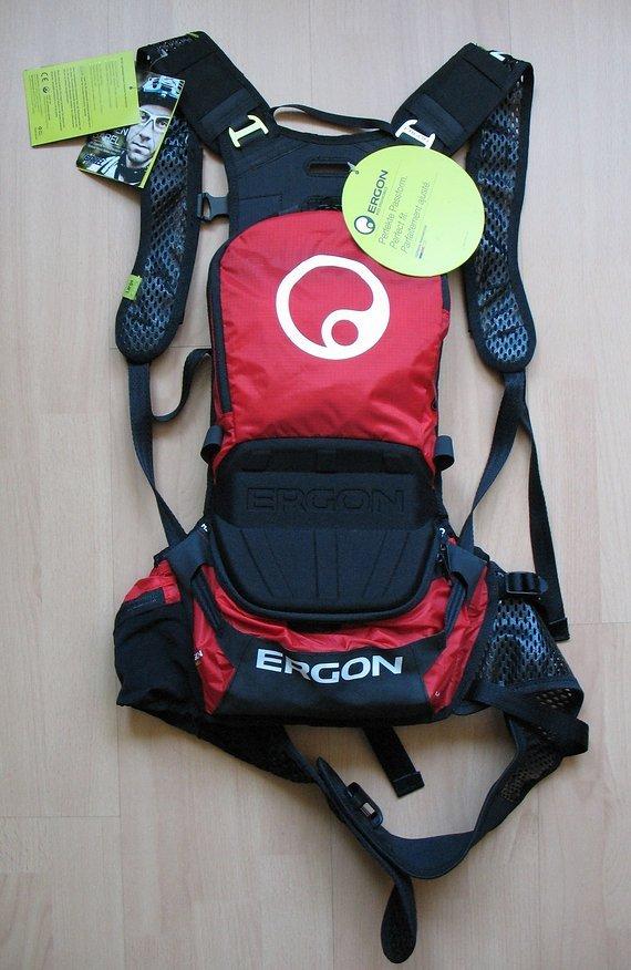Ergon BE1 Endurorucksack (inkl. Protektor und Trinkblase)
