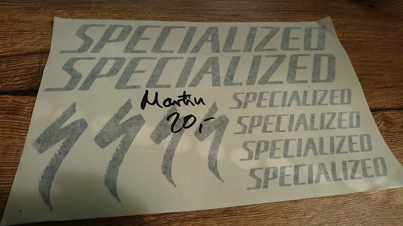 Specialized Decal Kit Aufkleber Sticker Set