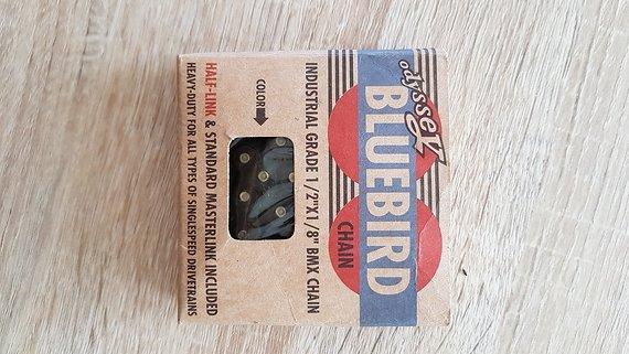 Odyssey Bluebird Kette, Black, Singlespeed, BMX, mit Half-Link, NEU