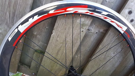 Campagnolo Bullet Ultra 50 Carbon Race wheels