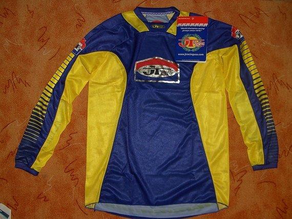 Jt Racing Pro Tour Jersey - Blau/Gelb
