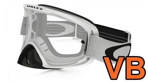 Oakley O-Frame MX Goggle, weiß