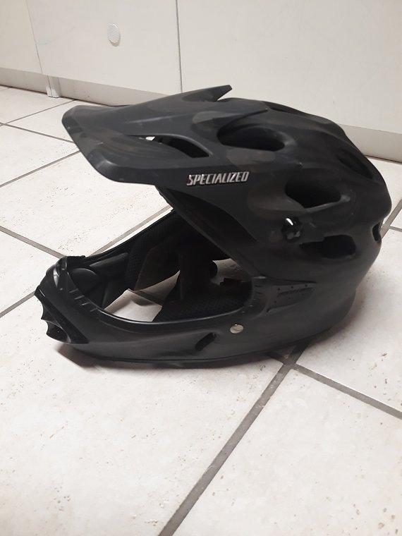 Specialized Deviant full face Helm Größe S
