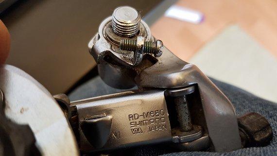 Shimano Schaltwerk RD-M650 7-Fach