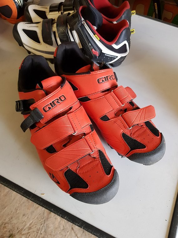 Giro Gr. 47 MTB - Rennradschuhe