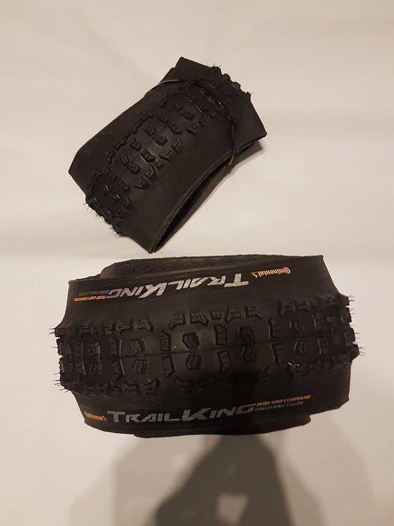 Continental Trail King 27,5 x 2,4 Performance Pure Grip Schwarz
