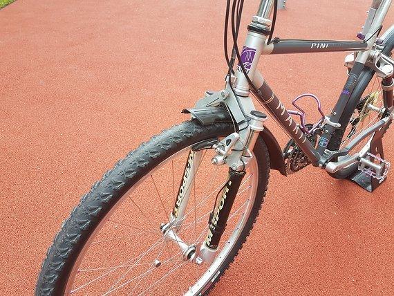 "Marin Bikes Marin Pine FRS MTB 26"" Shimano Deore XT Manitou Answer Federgabel"