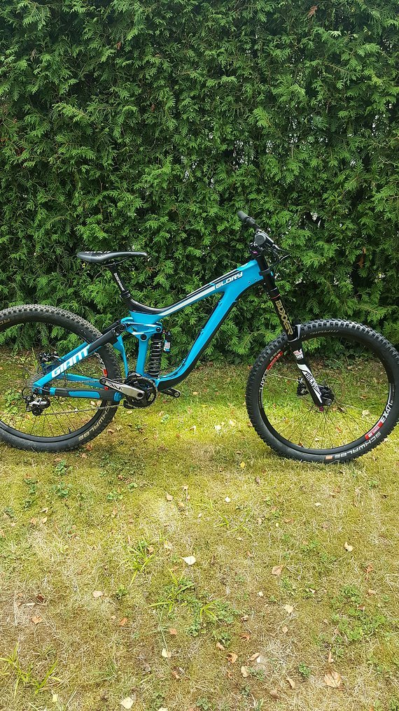 Giant Glory Advanced Carbon 2017 Gr.L