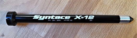 Syntace X-12 Steckachse 142x12mm NEU