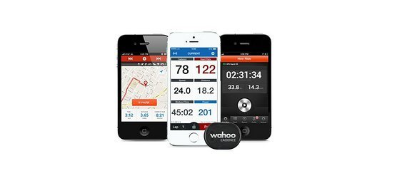 Wahoo Trittfrequenz Sensor fur iPhone, Android, Fahrradcomputer