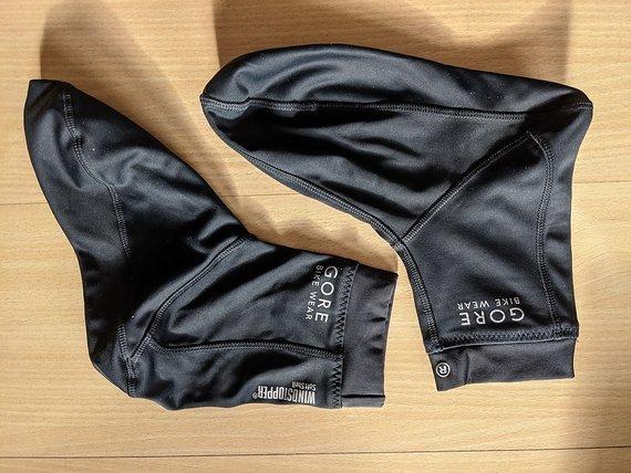Gore Bike Wear Windstopper Softshell Socken Gr. 43-44 / XL - Neu