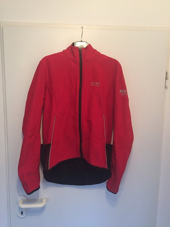 Gore Bike Wear Soft Shell Windstopper Gr. L Jacke