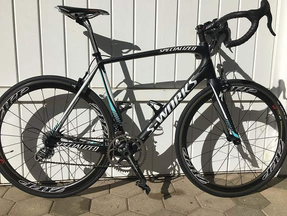 Specialized MEGA NEUE PREIS - S-works Tarmac SL4 full carbon 2014 (Grosse 58)