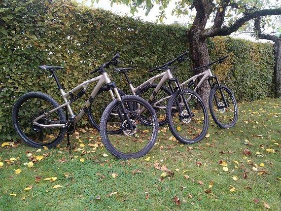 """Drössiger Flow Goldstück S/43cm mit 27,5"""" Sonderedition All Mountain Trailbike"""