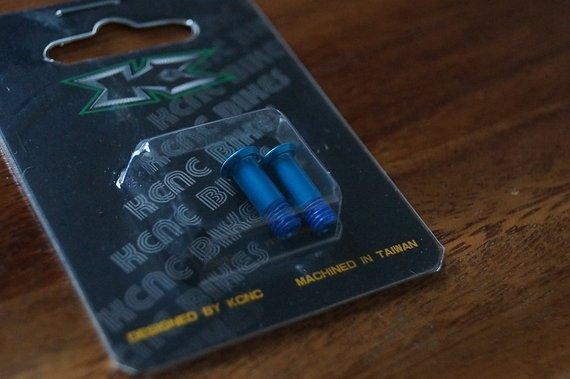 Kcnc Schrauben für Schaltwerksröllchen, blau