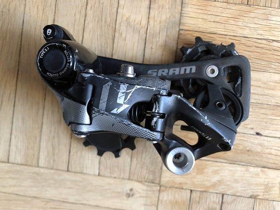 SRAM X01 Schaltwerk 11-fach schwarz