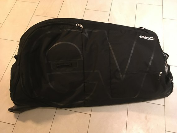 Evoc bike travel bag in schwarz