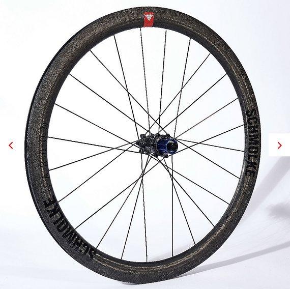 Schmolke Carbon TLOC 45 Disc Clincher Laufradsatz