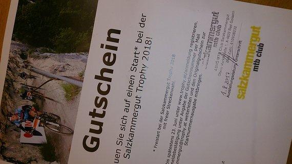 Gutschein Salzkammergut Trophy Salzkammergut Trophy Startplatz