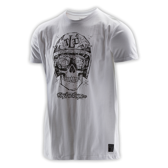 Troy Lee Designs OPEN ROAD TEE Gr.M WHITE
