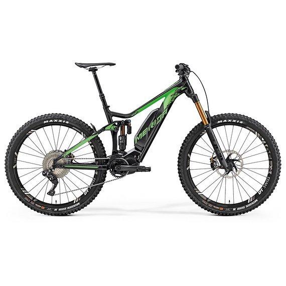 Merida eOne-Sixty 900E silk black/green 2019 E-BIke Fox XT Neu