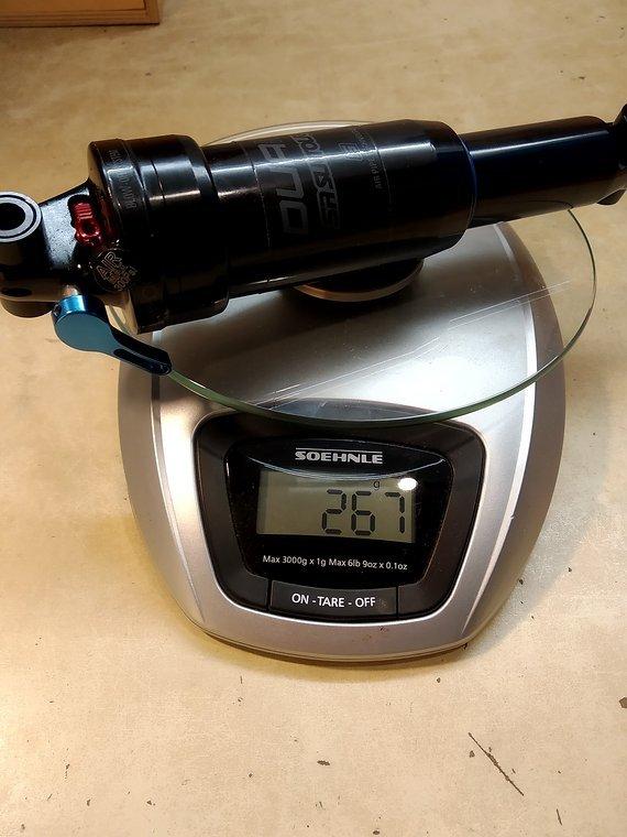 Suntour DUAIR LO-R Dämpfer 190x51mm