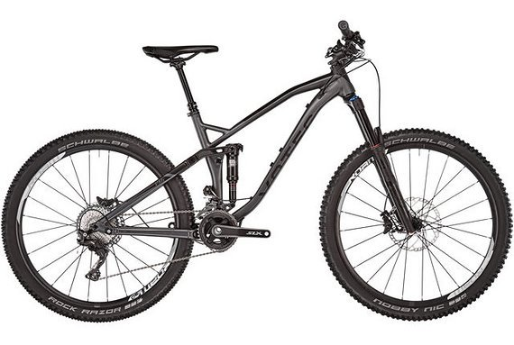 "Votec VMs Comp - Tour/Trail Fully 27,5"" - black-grey // M"